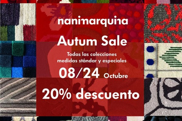 Autum sale by nanimarquina