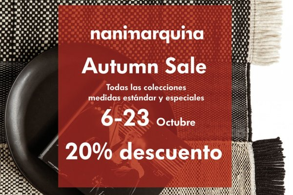 Autumn Sales by Nanimarquina en MINIM