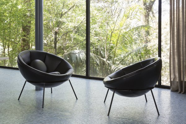 Lina Bo Bardi & The Bowl Chair en MINIM