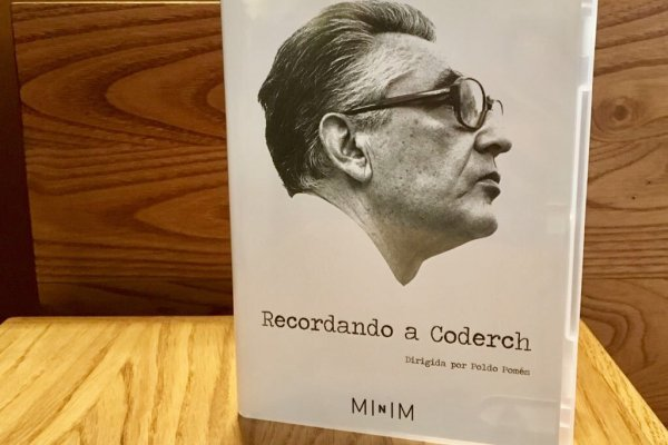 "DVD documental ""Recordando a Coderch"" en MINIM"