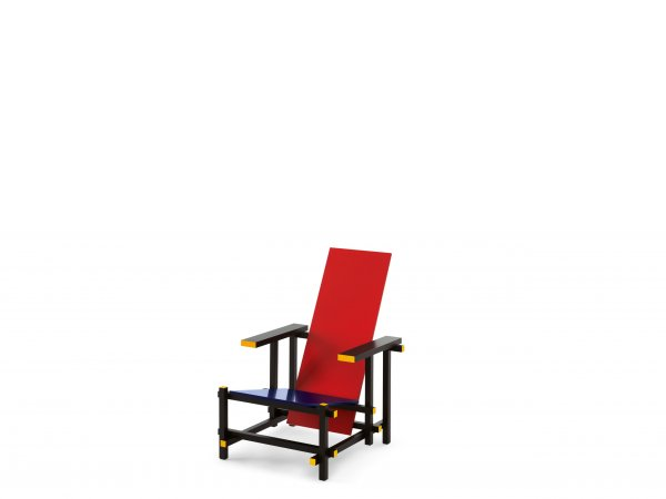 Cassina, 635 Red and Blue