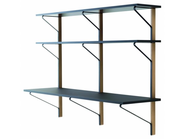 Artek, Kaari REB 010 Shelf with Desk
