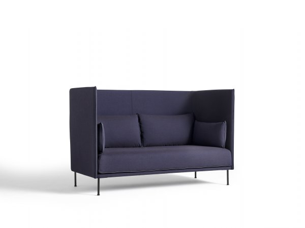 HAY_Silhoutte Sofa High Backed Duo 2 Seater-2 asientos_patas ahumadas_MINIM Showroom_Madrid_Barcelona