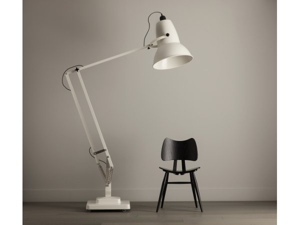 Anglepoise, Original 1227 Giant brass floor lamp