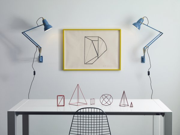 Anglepoise, Original 1227 Brass Wall Mounted Lamp