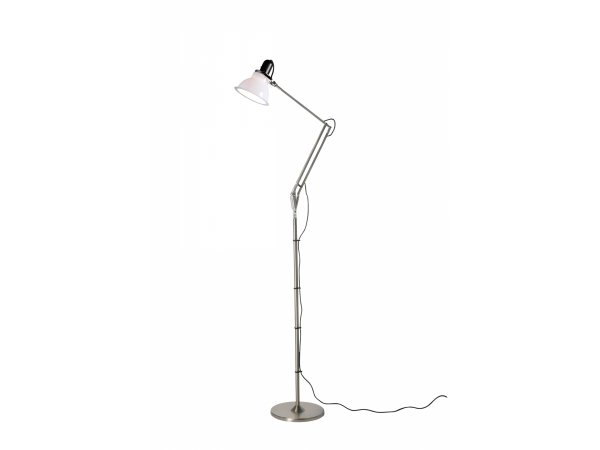 anglepoise type floor lamp