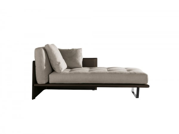 Chaise longue Luggage de Minotti