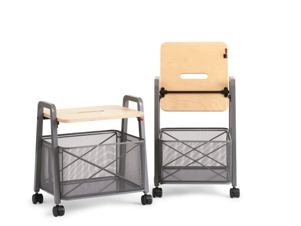 Rockwell mobile storage cart, Knoll